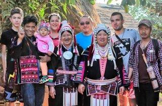 Chiang Rai : 3 days 2 nights in Akha village.